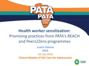 Adolescent Africa: A situational analysis of adolescent HIV trea