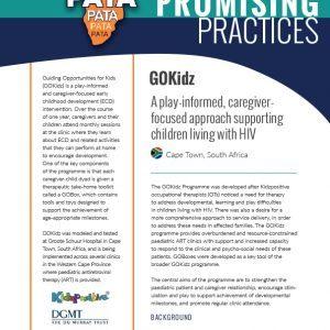 GOKidz: A play-informed, caregiver focused approach