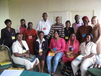 A participative action-orientated process for clinical teams delivering anti-retroviral therapy to children in the East African region