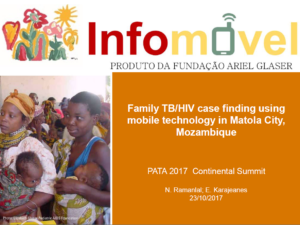 Family HIV/TB case finding using mobile technology in Matola City, Mozambique