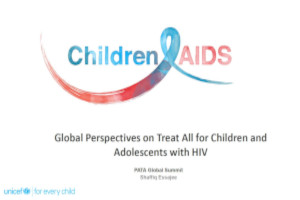 Global perspectives on treat all for children and adolescents with HIV