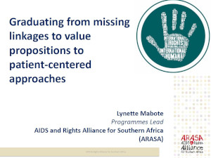 Graduating from missing linkages to value propositions to patient-centered approaches
