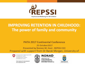 Improving retention in childhood: The power of family and community