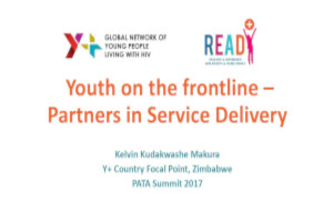 Youth on the frontline: Partners in service delivery