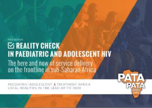 Reality check in paediatric and adolescent HIV: The here and now of service delivery on the frontline in sub-Saharan Africa