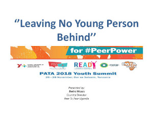 Leaving no young person behind
