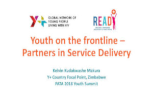 youth on the frontline partners in service delivery