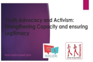 Youth advocacy and activism: Strengthening capacity and ensuring legitimacy