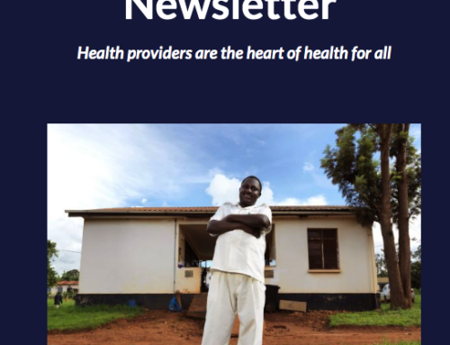 PATA April 2019 newsletter: Health providers are the heart of health for all!