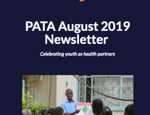 PATA August 2019 Newsletter: Celebrating youth as health partners