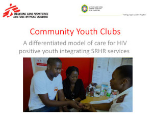 A differentiated model of care for HIV positive youth integrating SRHR services