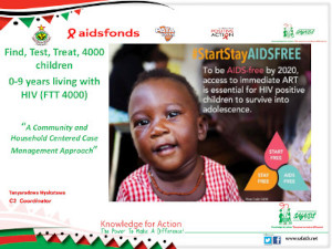 Find, Test, Treat, 4000 children 0-9 years living with HIV