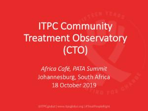 ITPC Community Treatment Observatory (CTO)