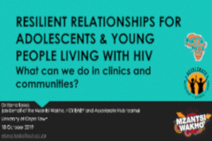 What can we do in clinics and communities