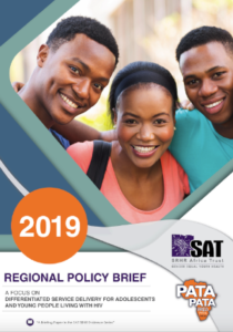 Regional Policy Brief: A focus on differentiated service delivery for adolescents and young people living with HIV