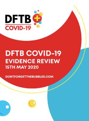 DFTB COVID-19 EVIDENCE REVIEW 15TH MAY 2020
