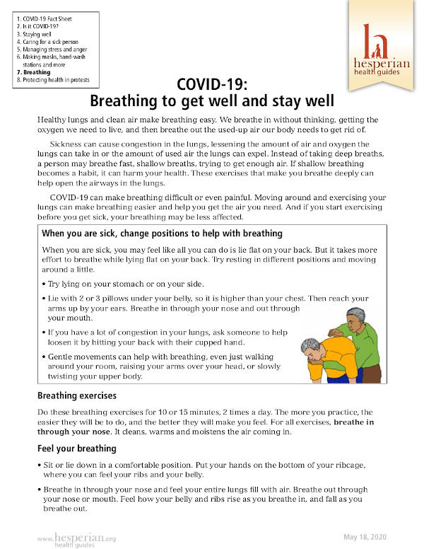 COVID-19- Breathing